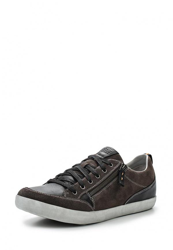 Кроссовки Geox U52R3C коричневые