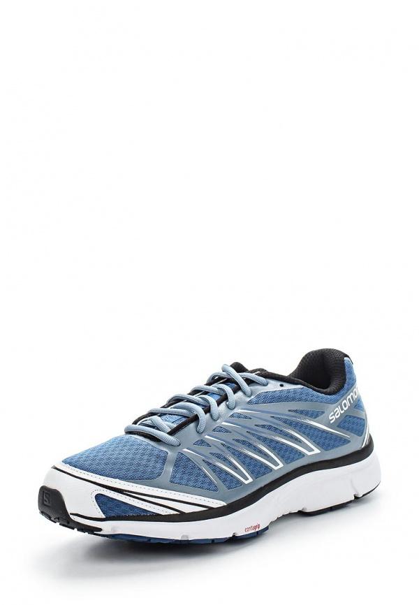 Кроссовки Salomon L37072300 серые, синие
