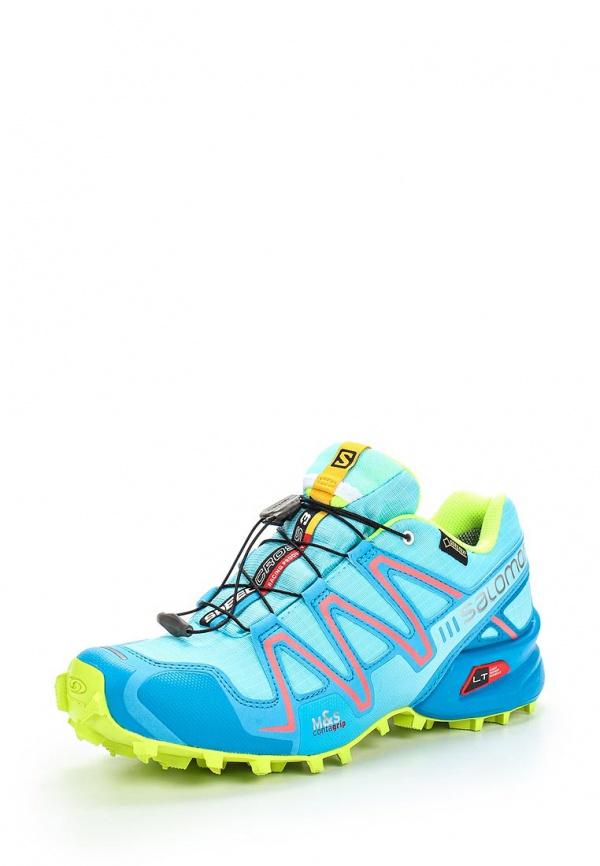 Кроссовки Salomon L37096800 голубые