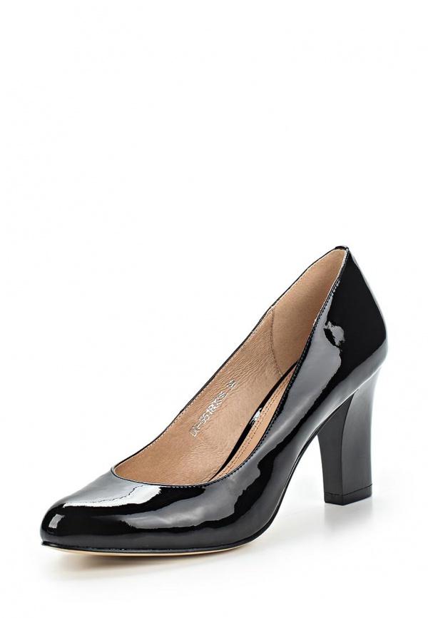 Туфли Elche DU-S518031L чёрные