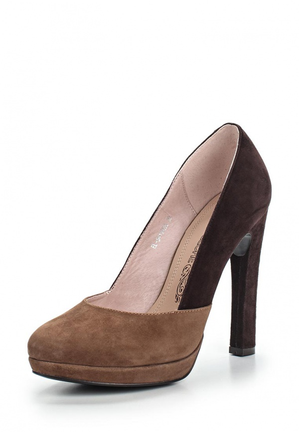 Туфли Elche EL-S411022L коричневые