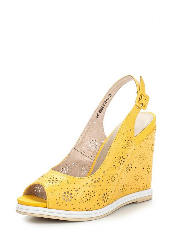 Босоножки Francesco Donni P515 095LA-E30-19C07 жёлтые