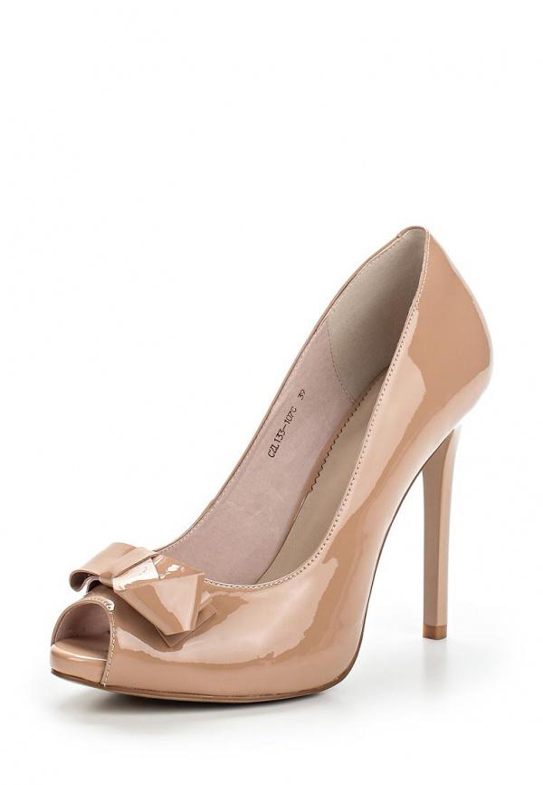 Туфли Lisette CZL133-107C бежевые