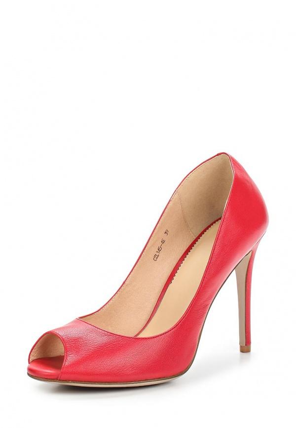 Туфли Lisette CZL145-4E красные