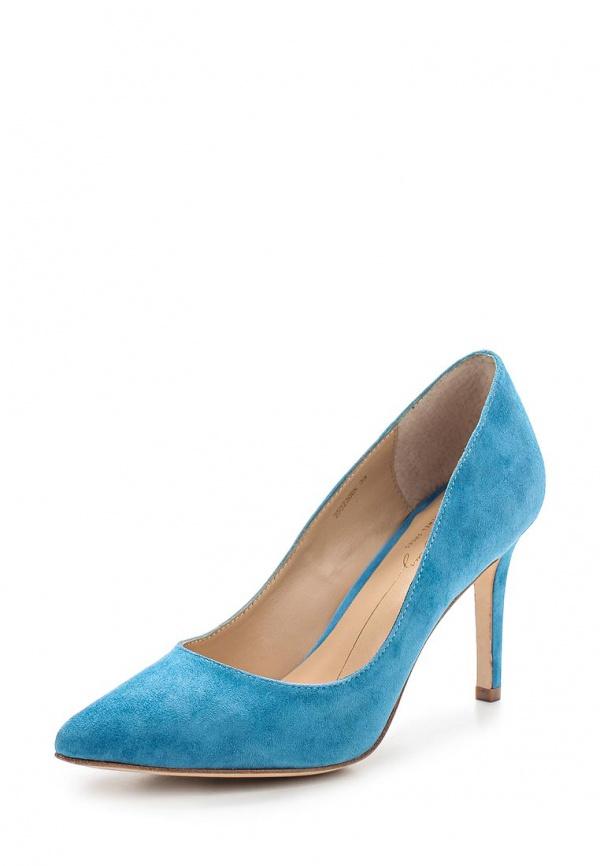 Туфли Lola Cruz 252Z30BK-N-V15 голубые