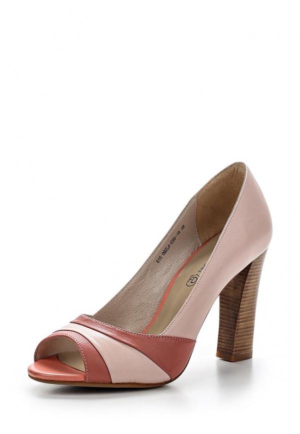 Туфли Francesco Donni P515 092LA-E55-18C40 розовые