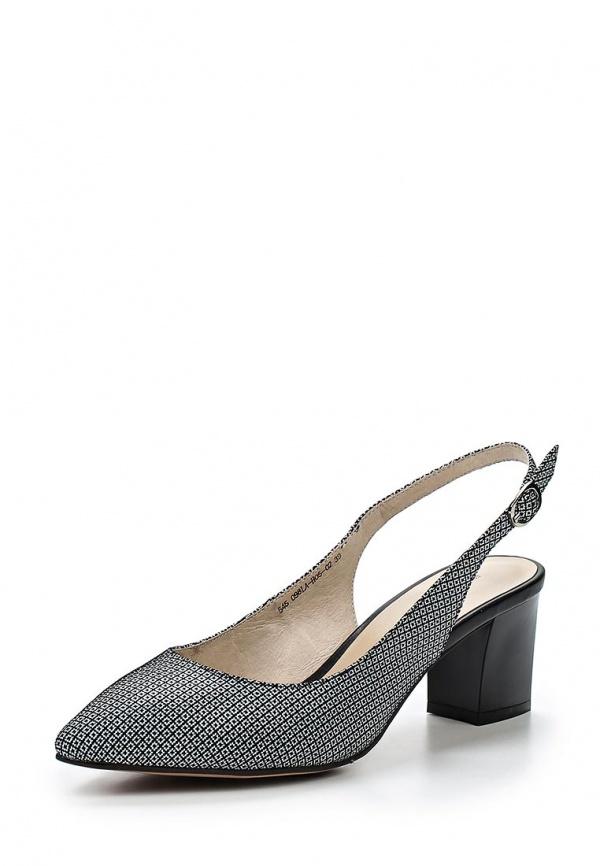 Туфли Francesco Donni P545 098LA-H05-02C07 серые