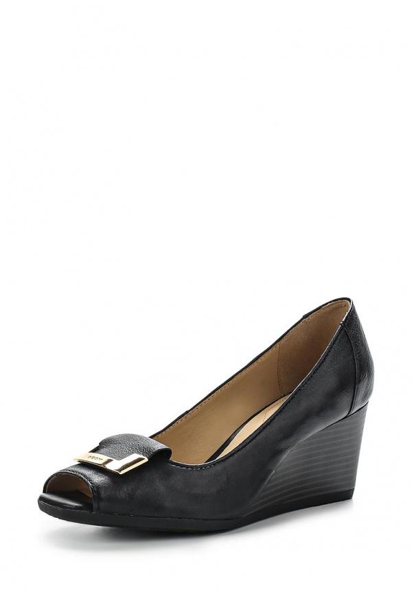 Туфли Geox D5282A чёрные