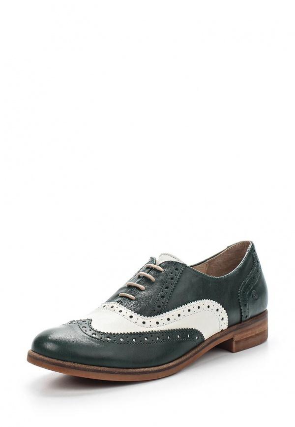 Ботинки Khrio 15515EVB зеленые