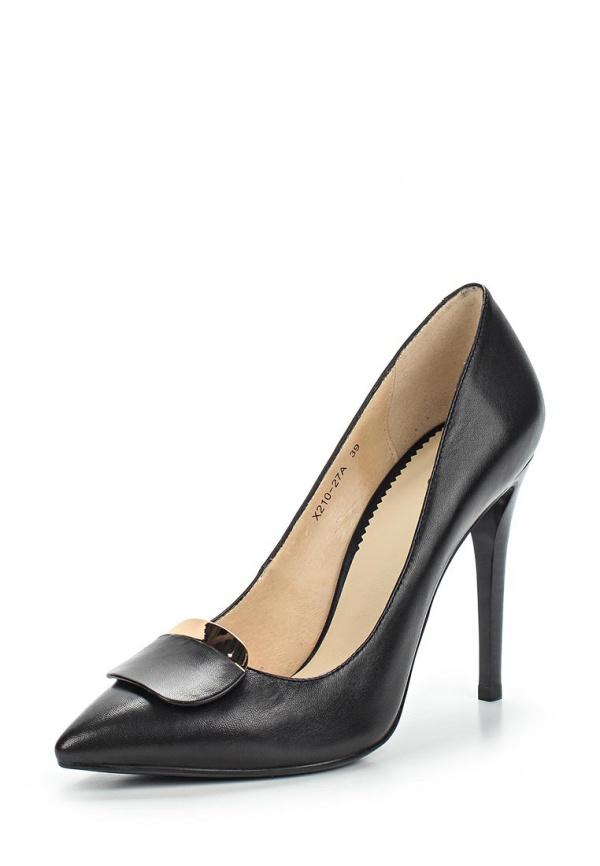Туфли Lisette X210-27A чёрные