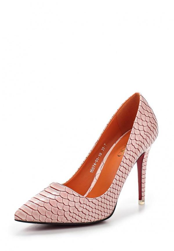 Туфли Inario 15074-01-19 розовые