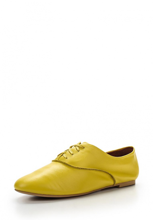 Ботинки Sinta 329-102-B0424-M жёлтые
