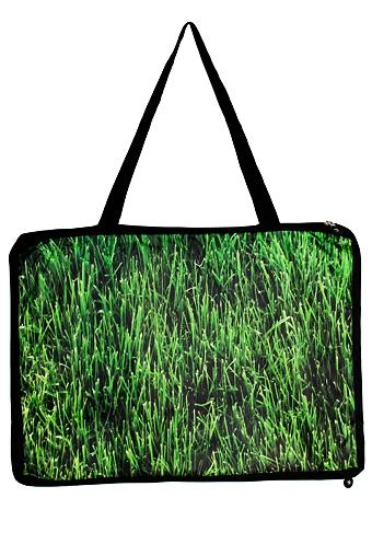 """Пляжные коврики Красный куб Коврик-сумка пляжный """"Трава"""""""