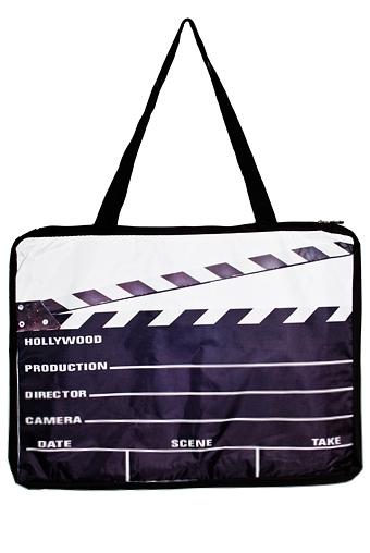 """Сумки и рюкзаки Красный куб Коврик-сумка пляжный """"Кинематограф"""""""