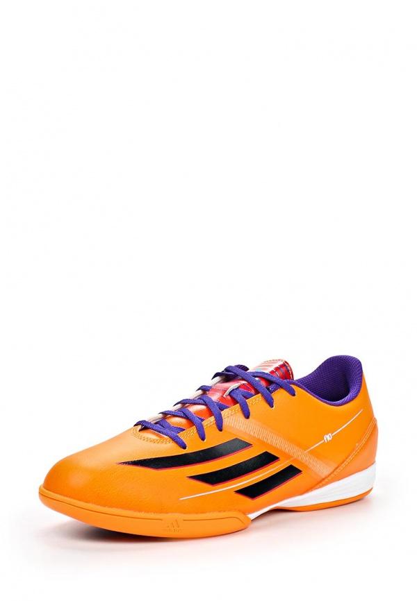 Бутсы зальные adidas Performance F32676 оранжевые