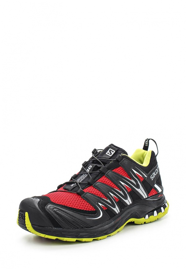 Кроссовки Salomon L37320400 красные, чёрные