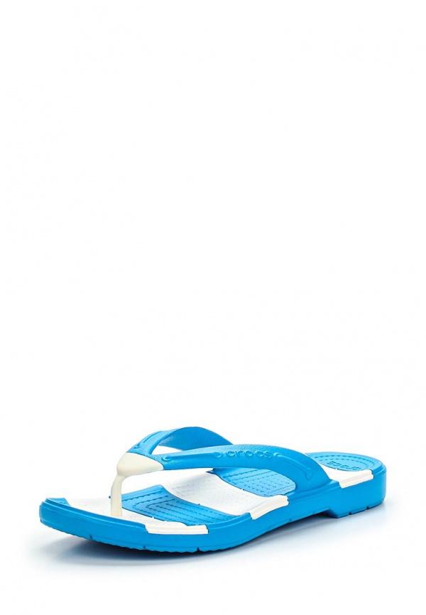 Сланцы Crocs 15335-49Y синие