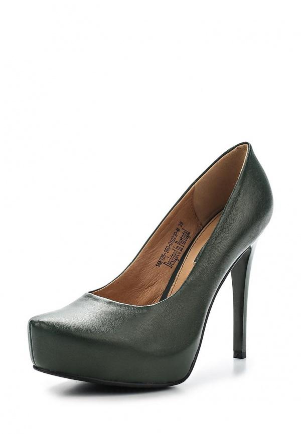 Туфли Clotilde 14A025-160-Q1021P-M зеленые