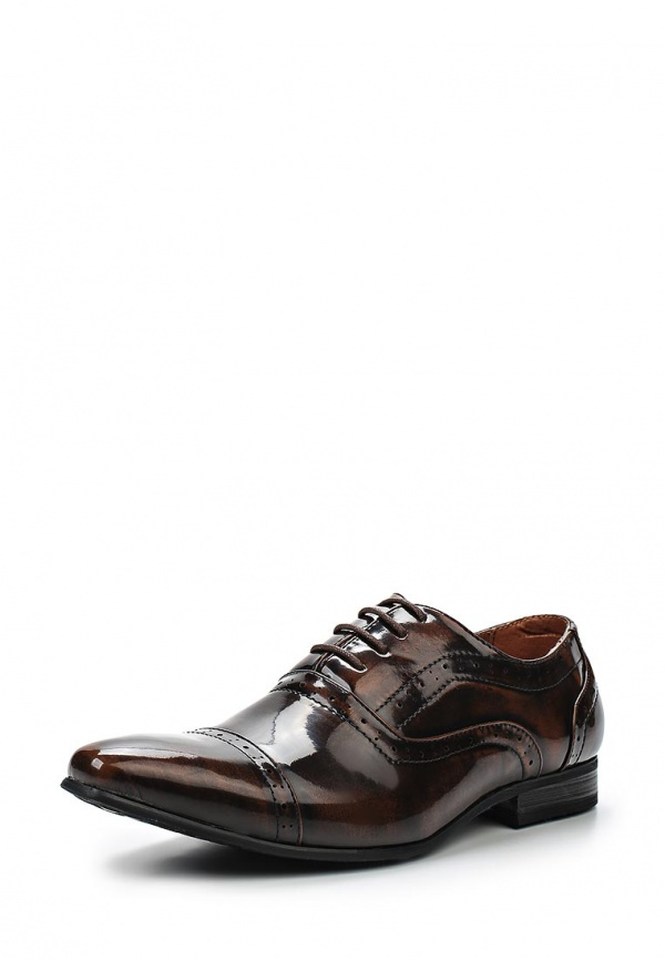 Туфли Galax GH3023 коричневые