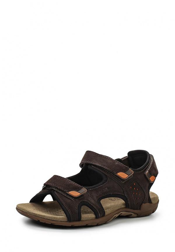 Сандалии Geox U4276B коричневые