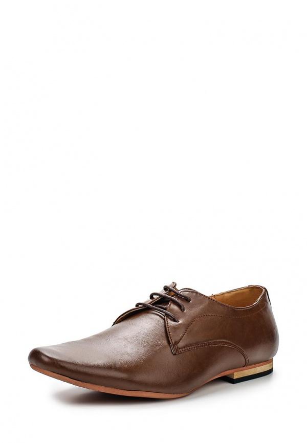 Туфли Galax GH1506 коричневые