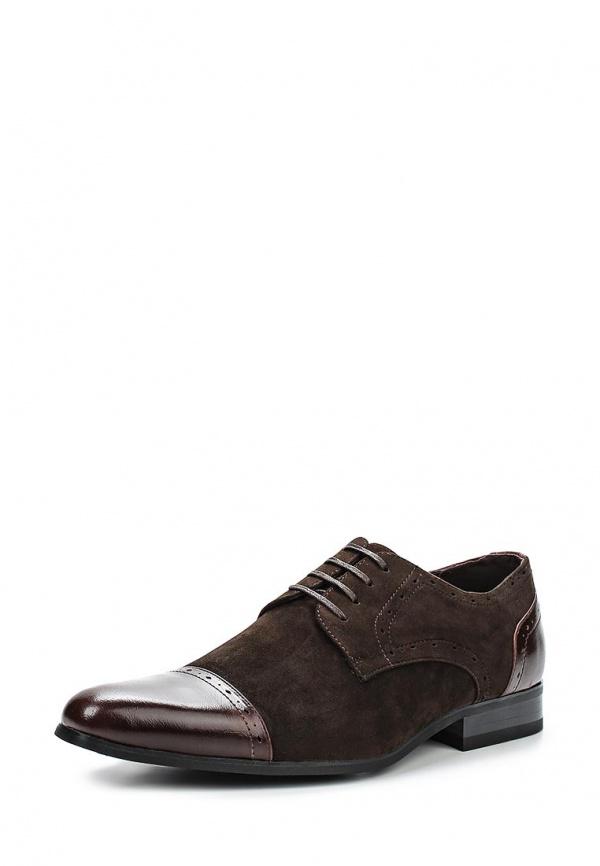 Туфли Galax GH1255 коричневые