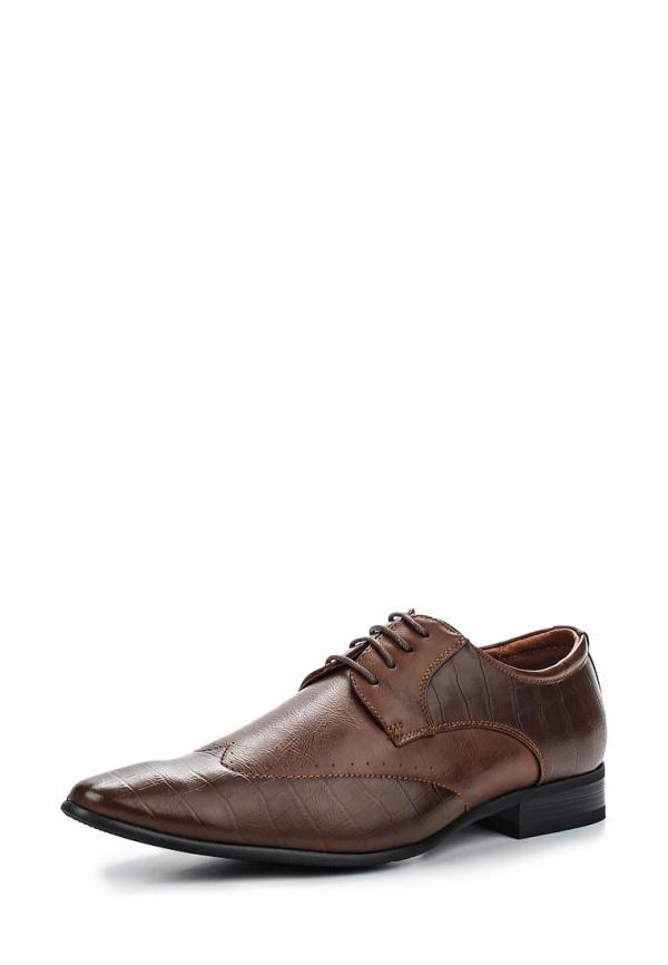 Туфли Galax GH3046 коричневые