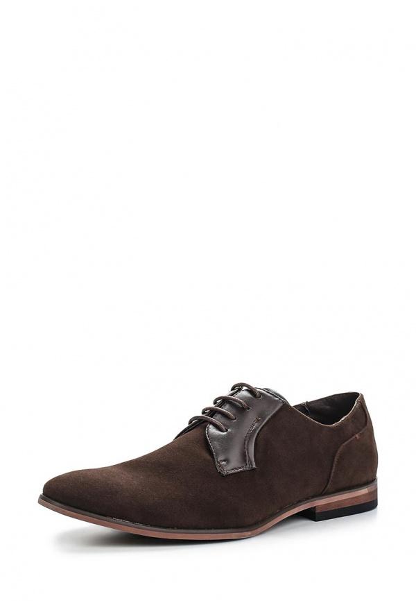 Туфли Galax GH3017 коричневые