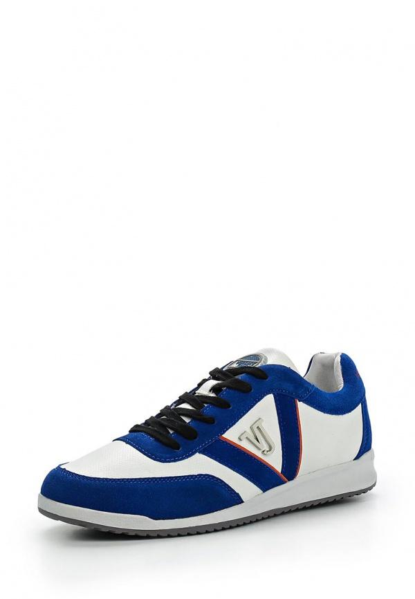 Кроссовки Versace Jeans E0YLBS05 белые, синие