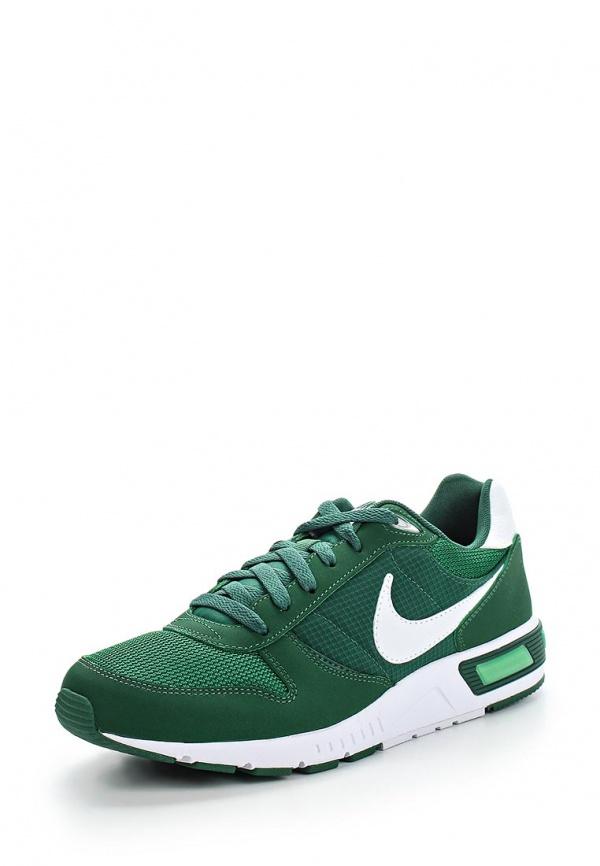 Кроссовки Nike 644402-312 зеленые
