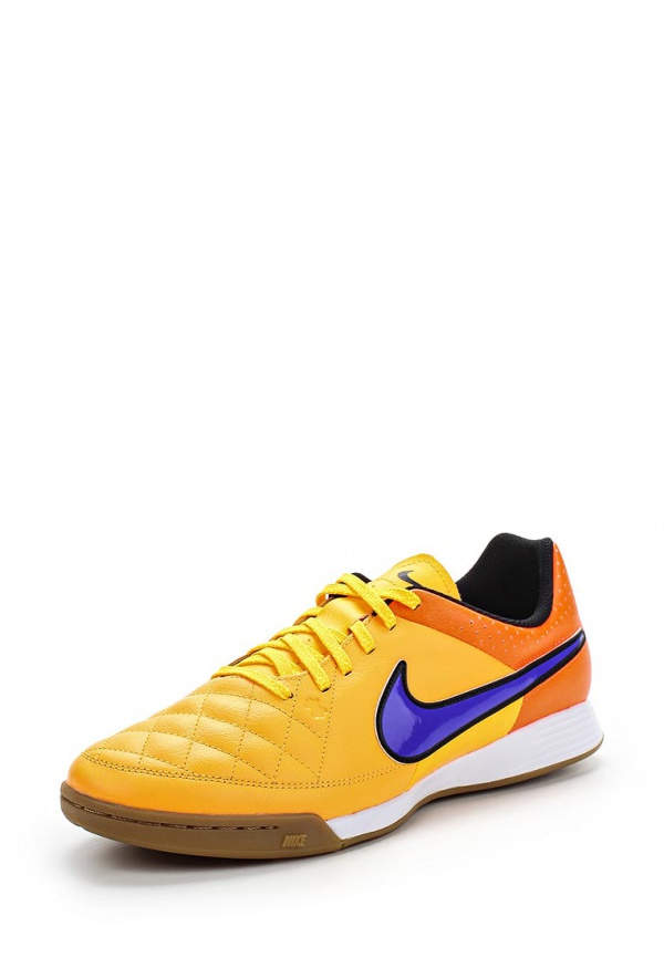 Бутсы зальные Nike 631283-858 оранжевые