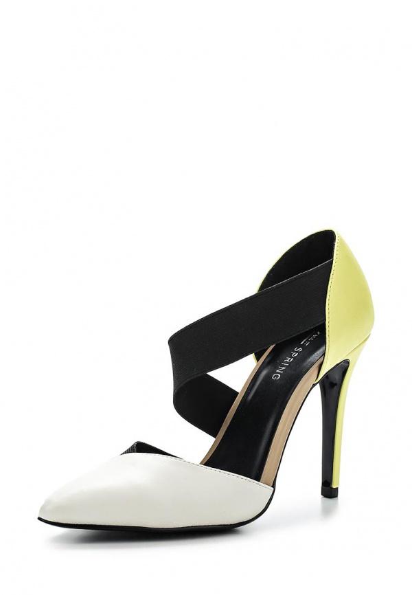 Туфли Call It Spring NANINE белые, жёлтые, чёрные