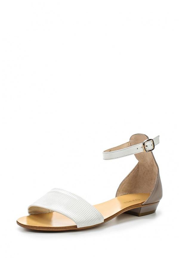 Сандалии Covani 8500-203 белые, серые