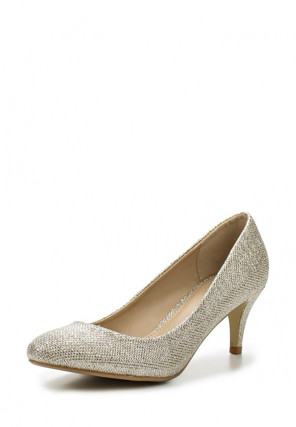 Туфли Dorothy Perkins 22309642 золотистые