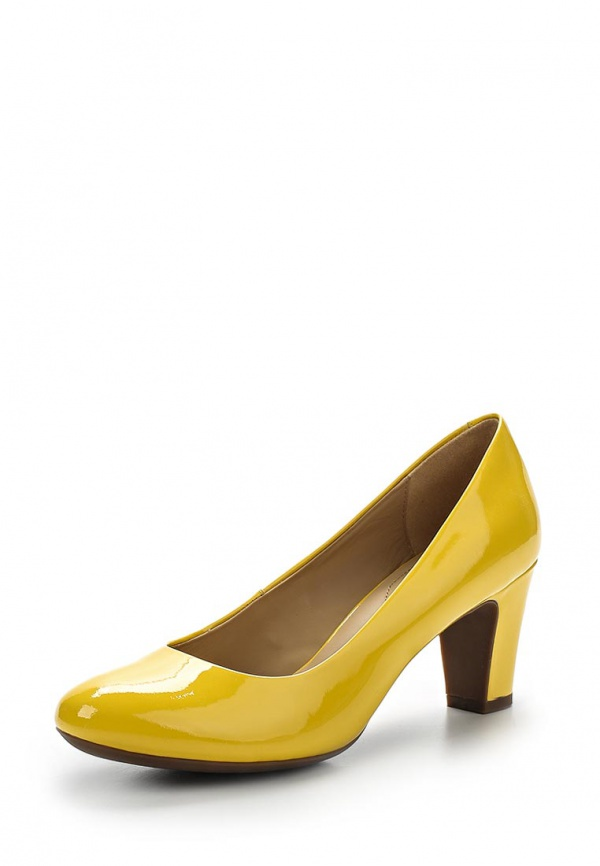 Туфли Geox D32T7B жёлтые