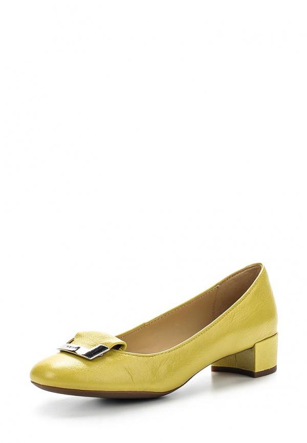 Туфли Geox D52V8A жёлтые