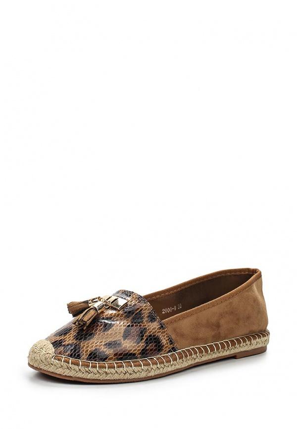 Эспадрильи Max Shoes 2000-9 коричневые