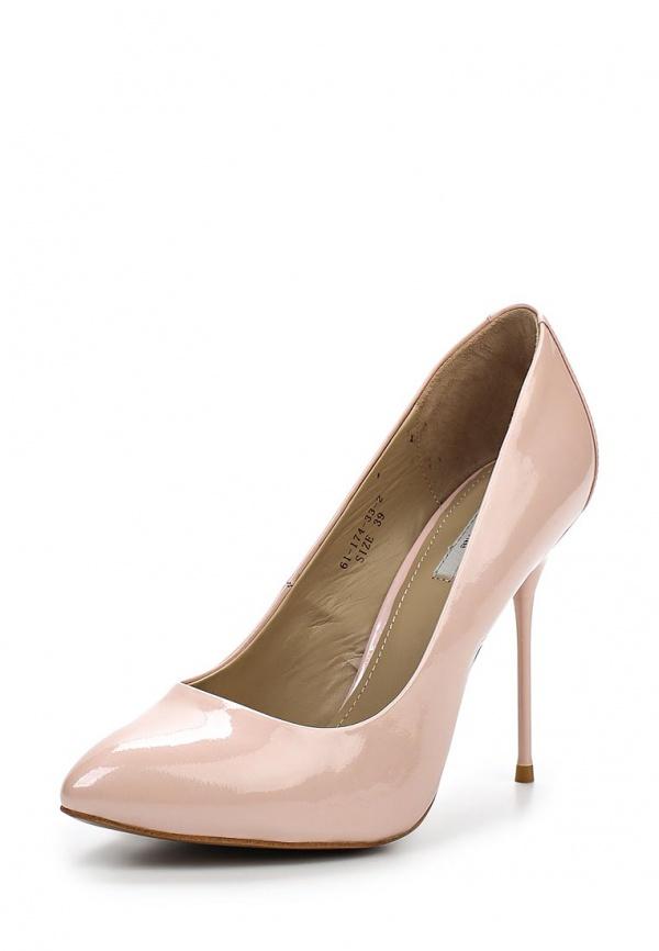 Туфли Paolo Conte 61-174-33-2 розовые