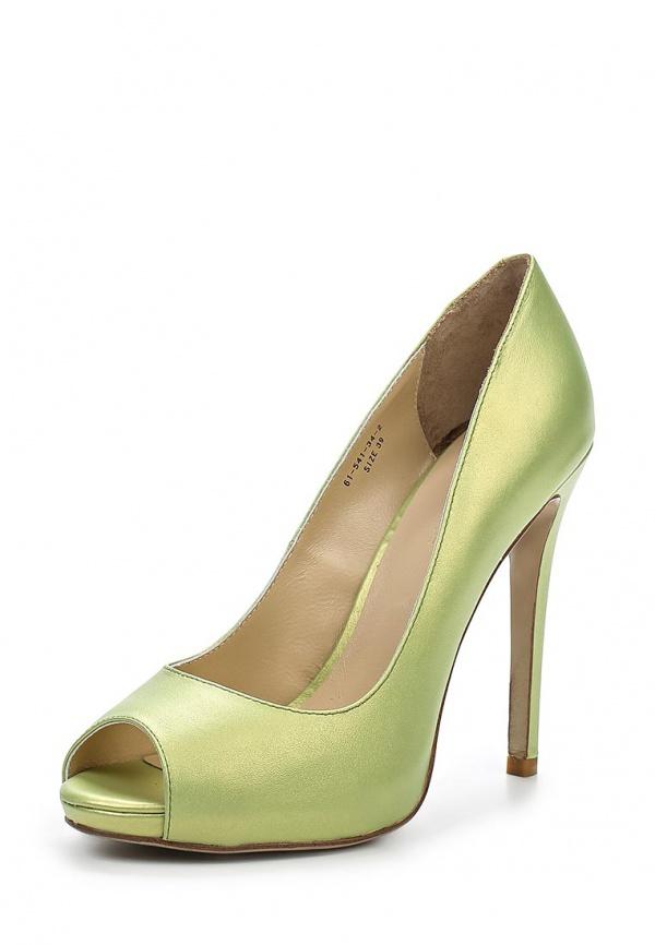 Туфли Paolo Conte 61-541-34-2 зеленые