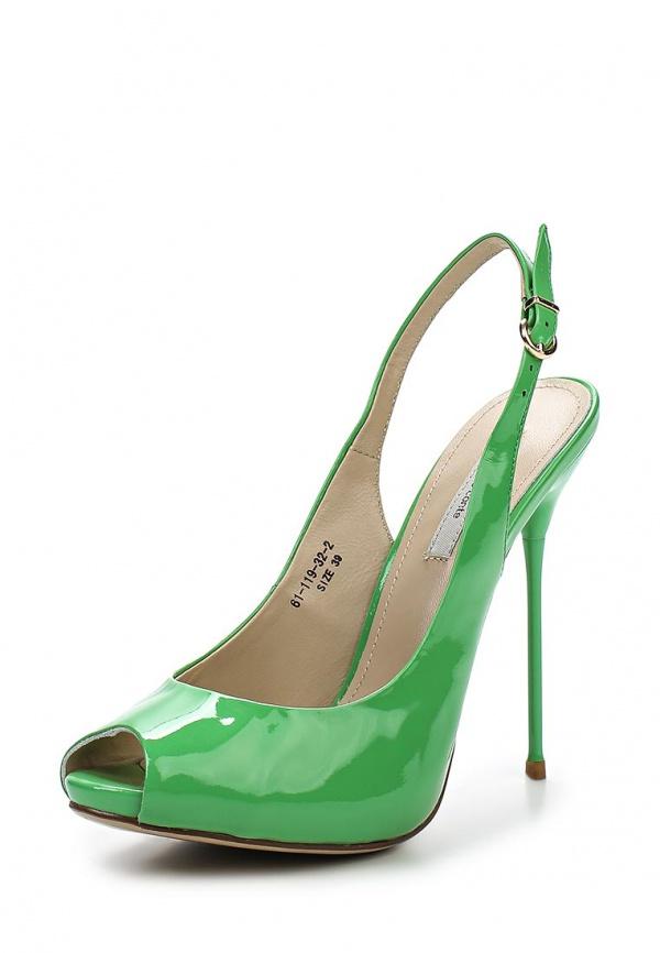 Босоножки Paolo Conte 61-119-32-2 зеленые