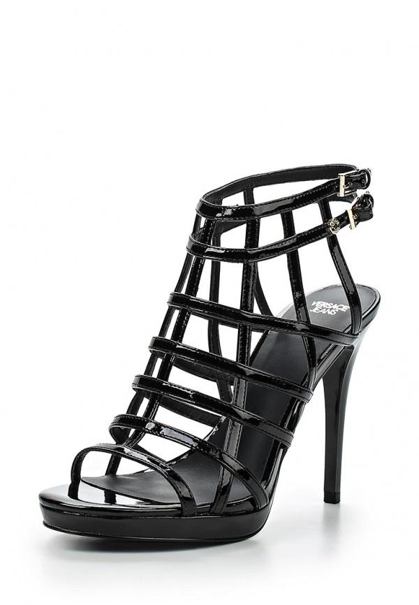 Босоножки Versace Jeans E0VLBS83 чёрные
