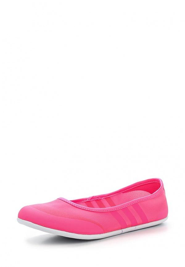 Балетки adidas Neo F97970 розовые