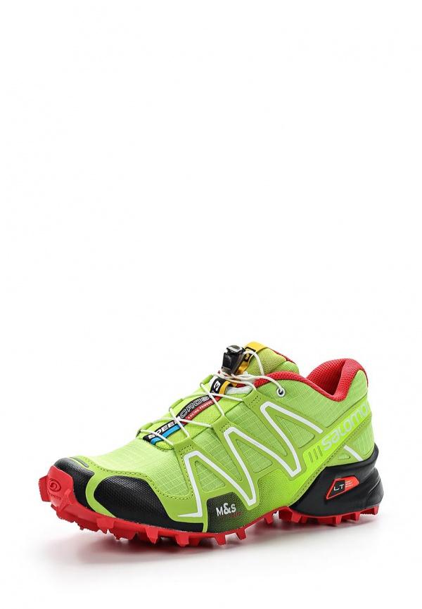 Кроссовки Salomon L37323200 зеленые