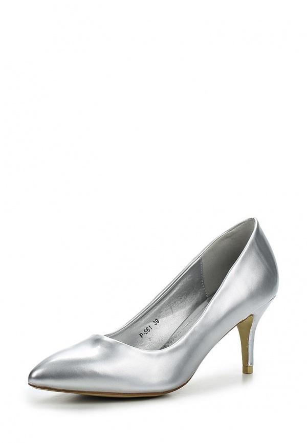 Туфли Stephan P-561 серебристые