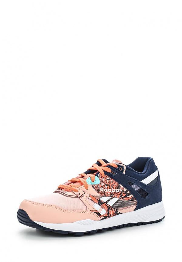 Кроссовки Reebok Classics M45611 розовые, синие