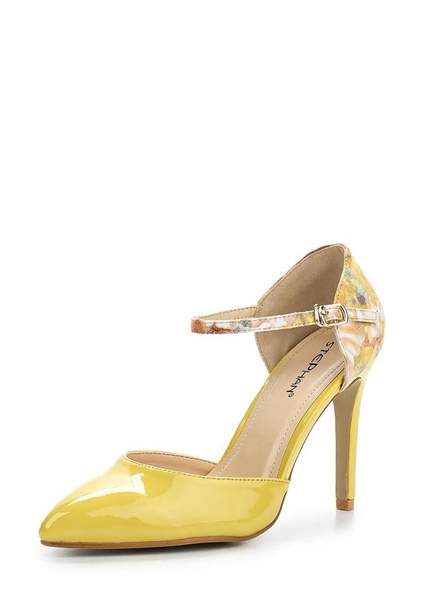 Туфли Stephan AB-66 жёлтые