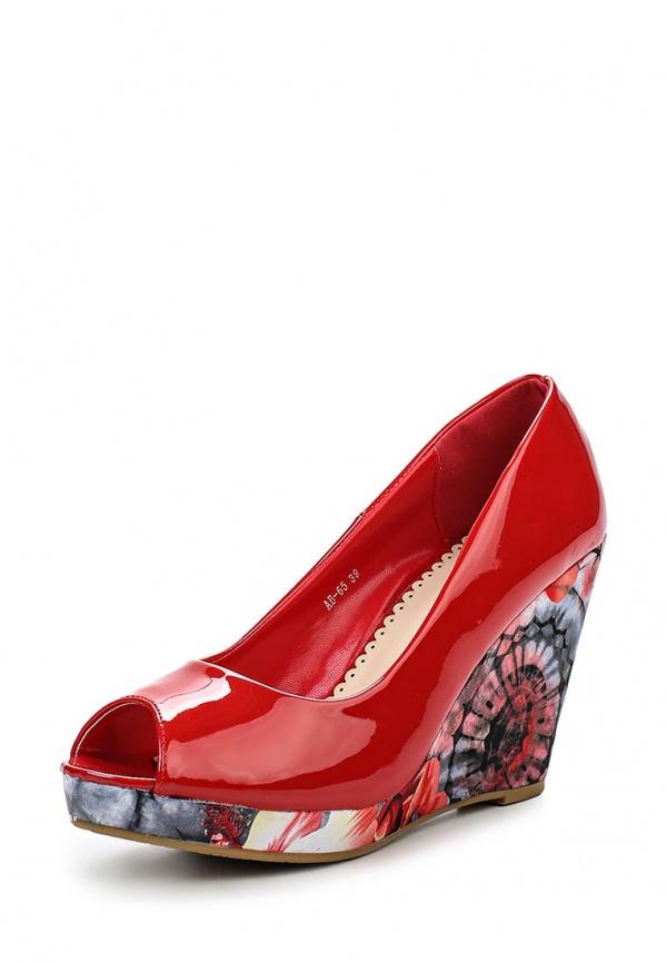Туфли Stephan AB-65 красные