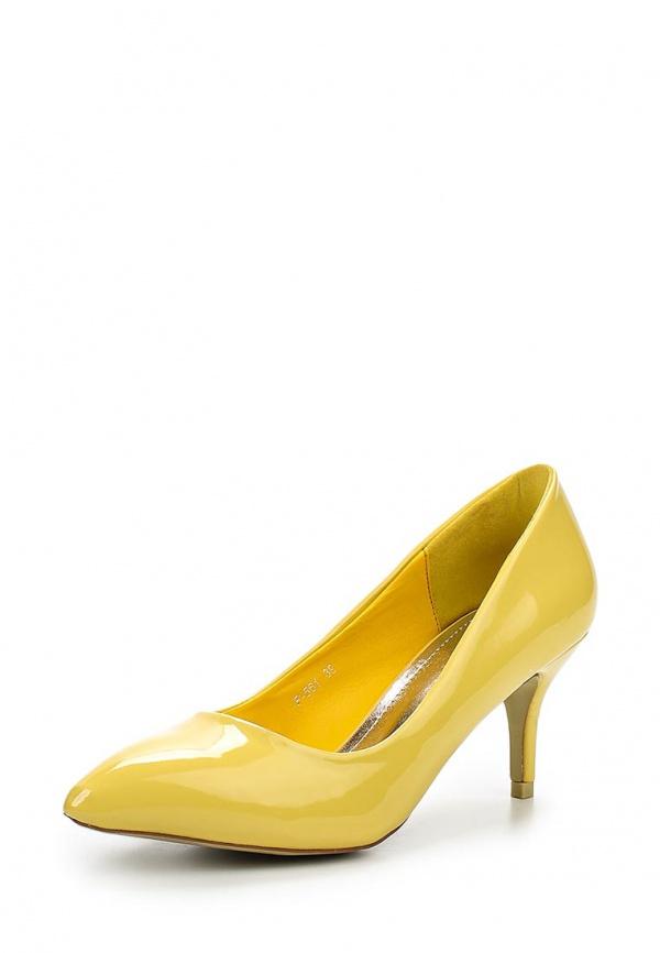 Туфли Stephan P-561 жёлтые