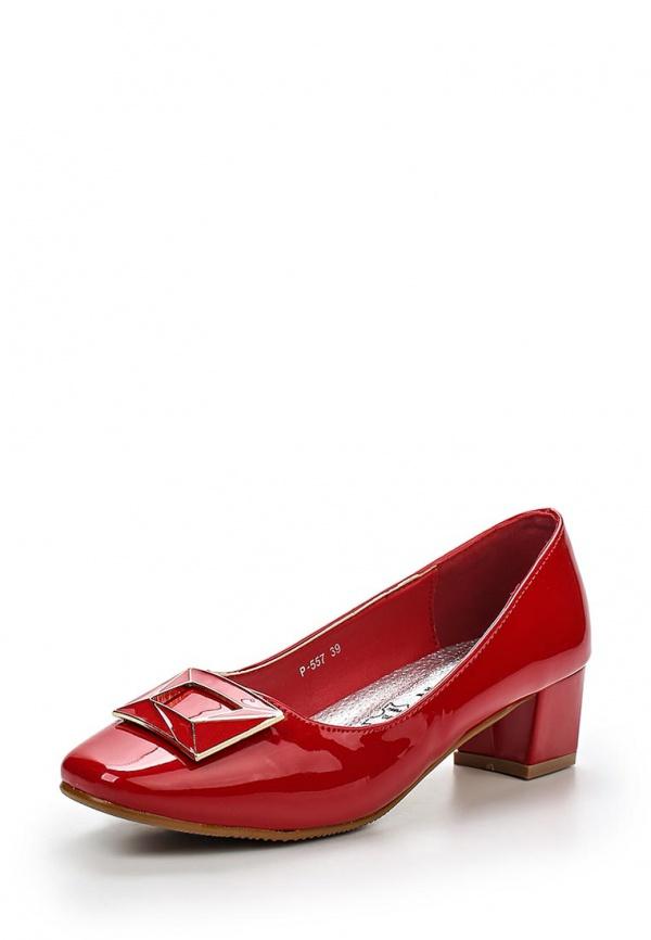 Туфли Stephan P-557 красные