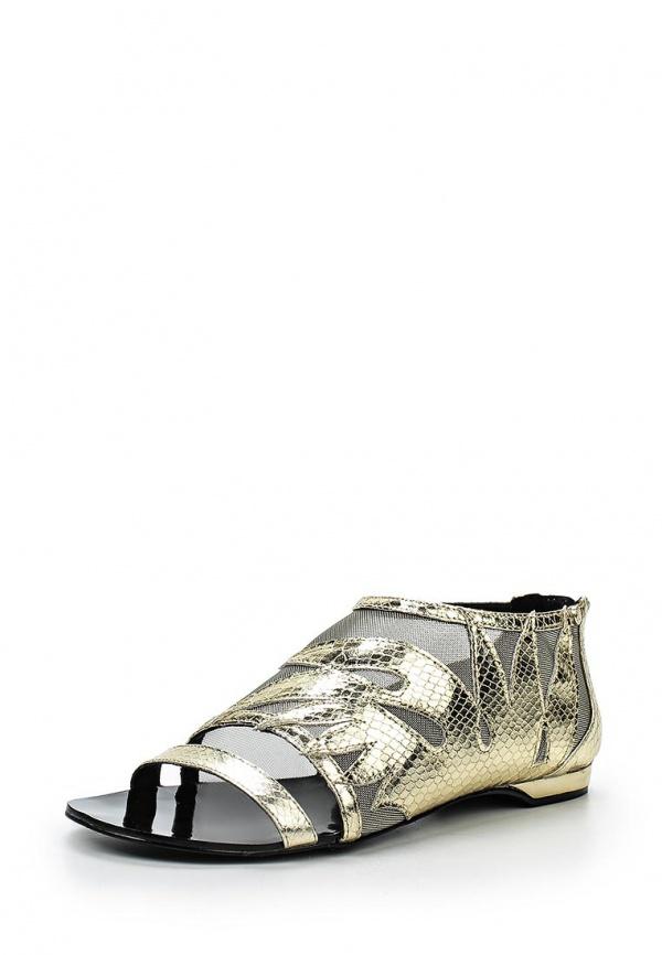 Сандалии Versace Jeans E0VLBS74 золотистые